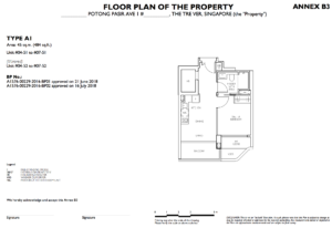 the-trever-1bedroom-type-a1-singapore