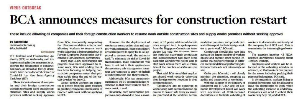 the-tre-ver-latest-property-news-BCA-measures-for-construction-restart